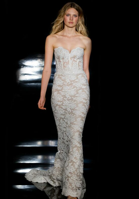 Reem Acra Anjelica Sheath Wedding Dress