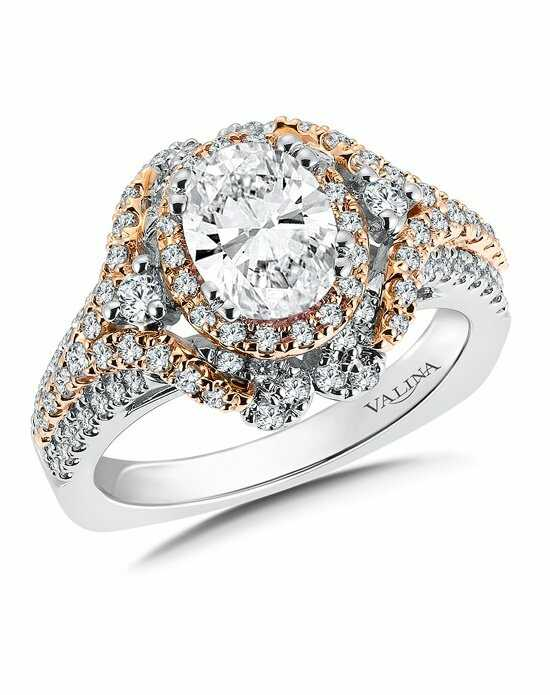 Valina Oval Cut Engagement Ring