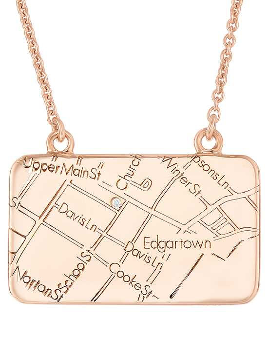 A.JAFFE Maps MAPN006 Wedding Necklace photo