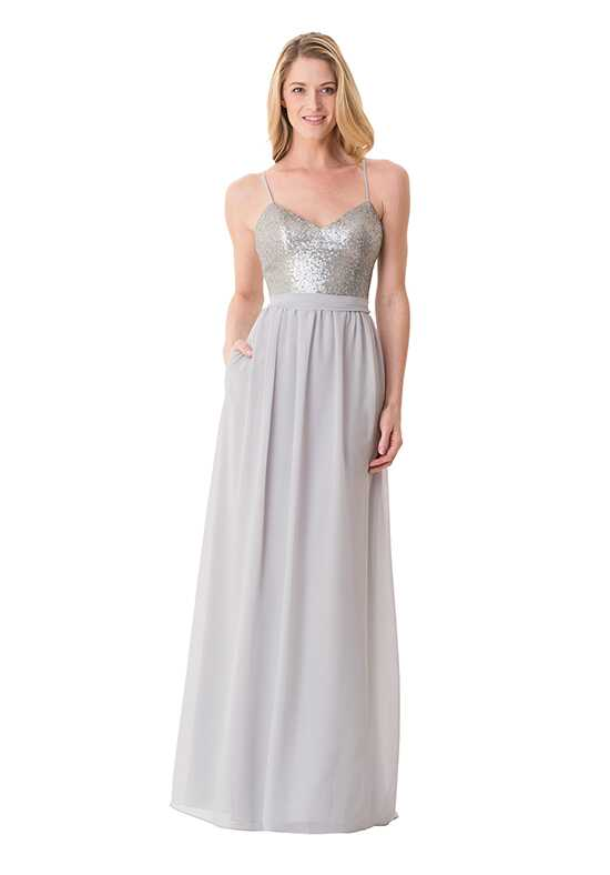 Bari Jay Bridesmaids 1668 V-Neck Bridesmaid Dress