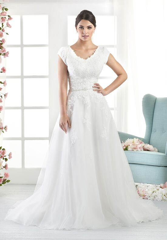 Aline wedding dresses lace