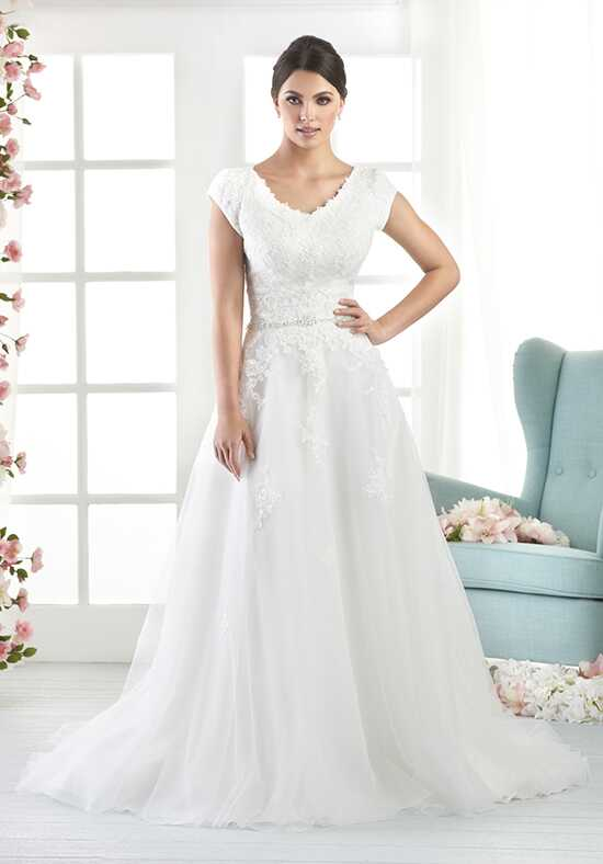 Bliss by Bonny Bridal 2808 A-Line Wedding Dress