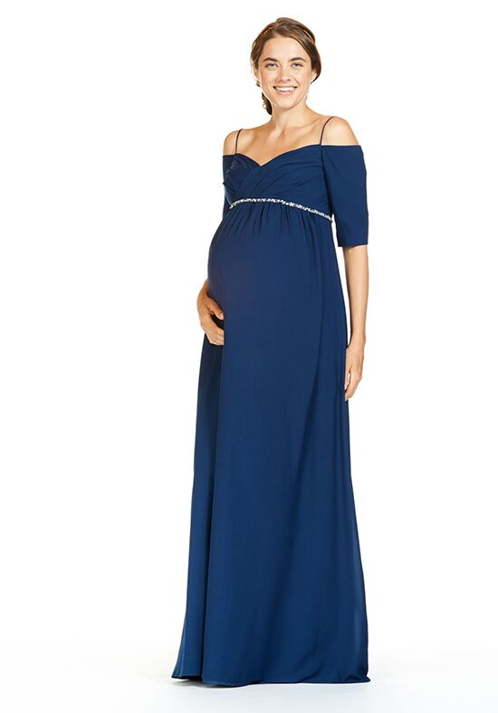 Bari Jay Bridesmaids 1838-M Off the Shoulder Bridesmaid Dress