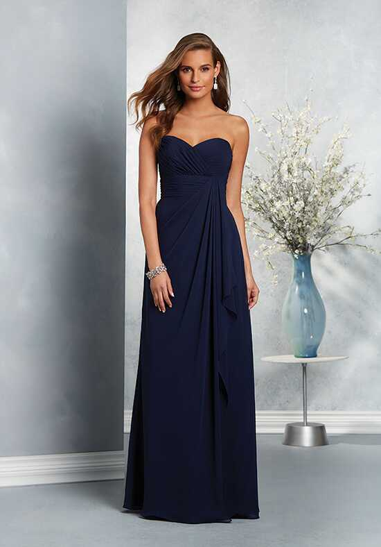 Alfred Angelo Signature Bridesmaids Collection 7411L Strapless Bridesmaid Dress