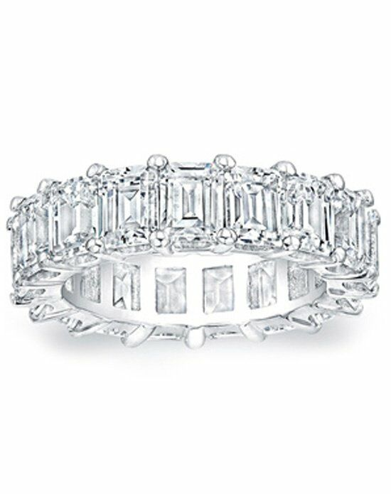 Since1910 Eternity Ring .50ct EM White Gold Wedding Ring