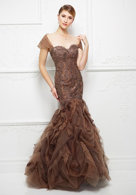 Ivonne D. 217D91 Brown Mother Of The Bride Dress