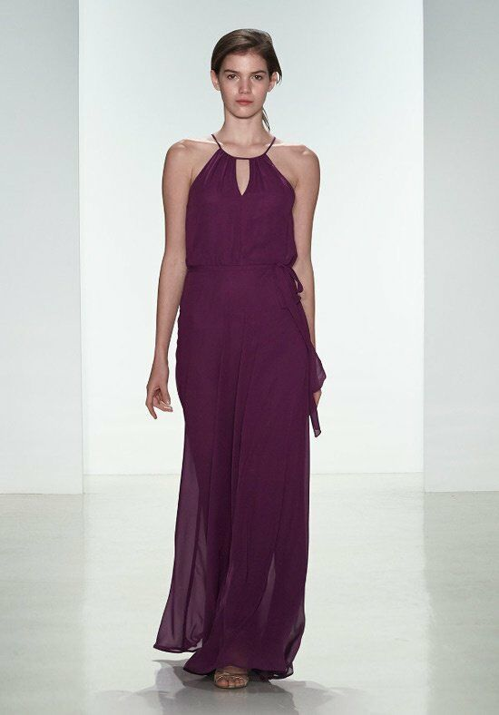 Nouvelle Amsale Bridesmaids N328 Halter Bridesmaid Dress
