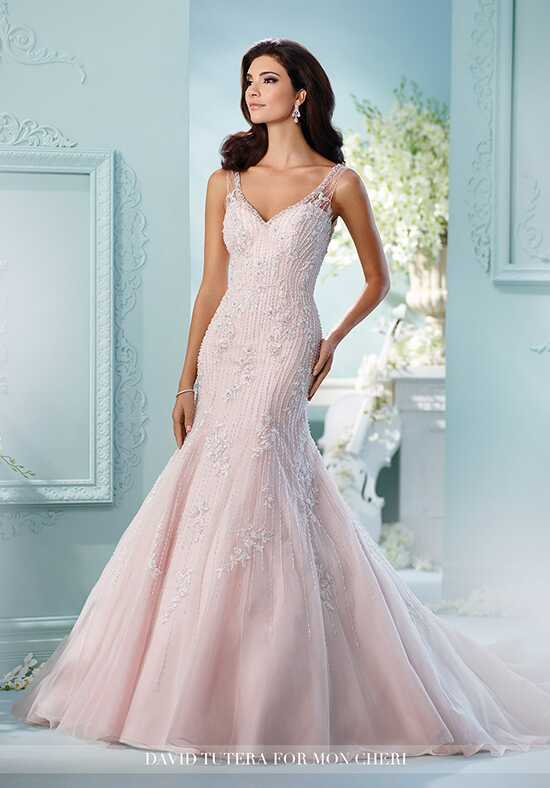 David Tutera for Mon Cheri 216234 Azure Mermaid Wedding Dress