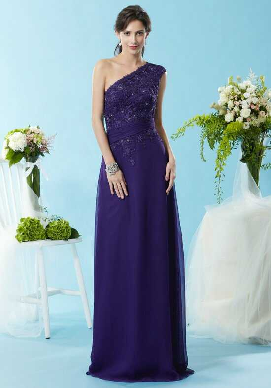 Eden Social Occassion 4086 Purple Mother Of The Bride Dress