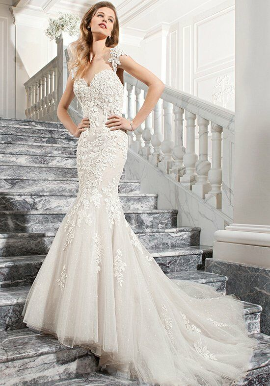 Demetrios C209 Mermaid Wedding Dress