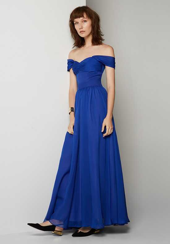 Fame and Partners Bridesmaid Melissa Off the Shoulder Bridesmaid Dress
