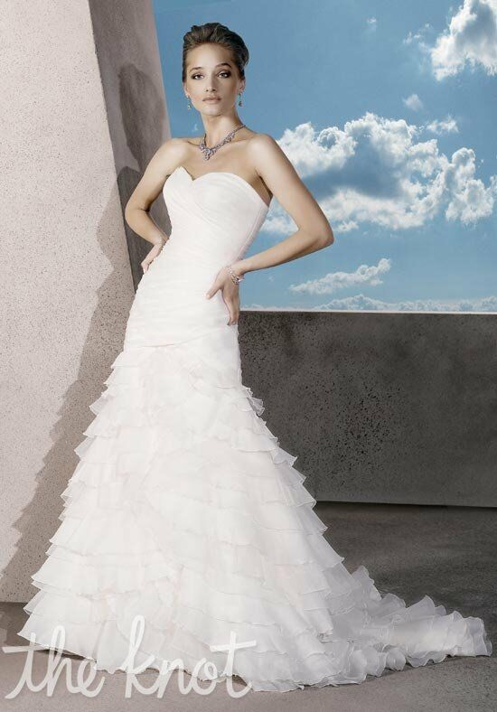 Demetrios 3173 Mermaid Wedding Dress