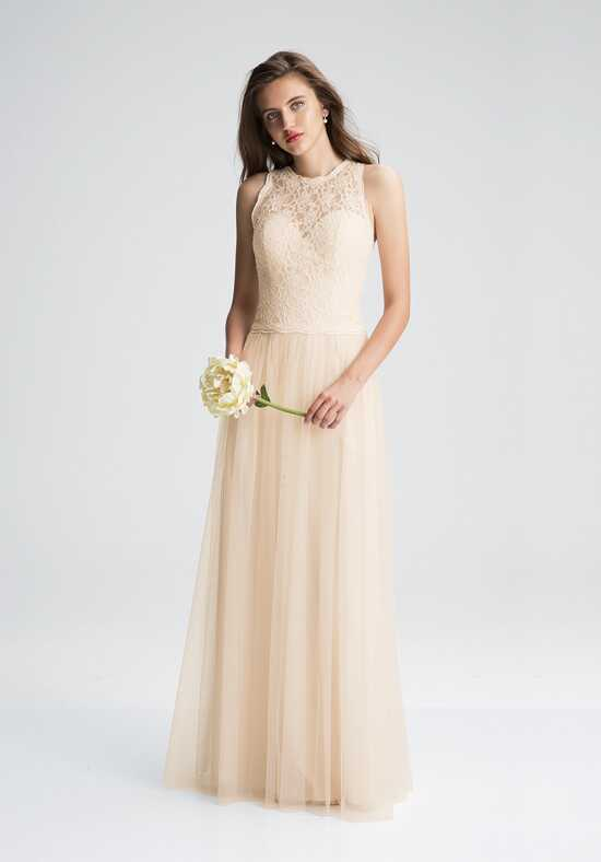 Bill Levkoff 1424 Illusion Bridesmaid Dress