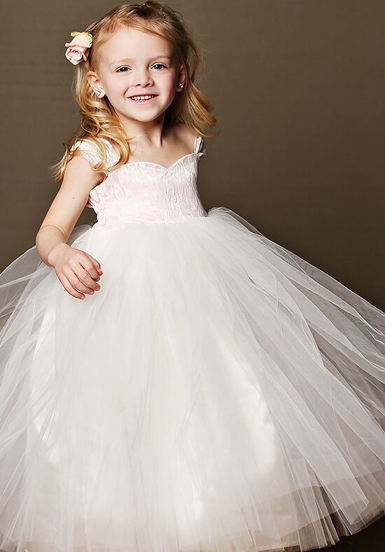 FATTIEPIE Sophia Ivory Flower Girl Dress