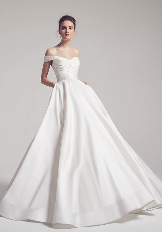 Anne Barge Berkeley Ball Gown Wedding Dress
