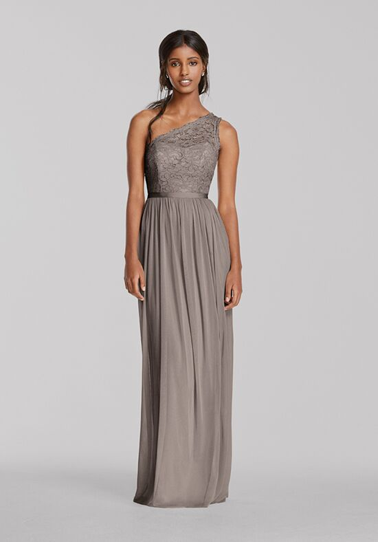 David's Bridal Collection David's Bridal Style F17063 One Shoulder Bridesmaid Dress
