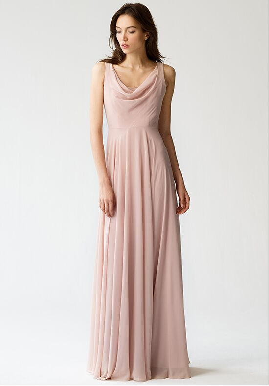 Jenny Yoo Collection (Maids) Liana {Desert Rose} #1782 Bridesmaid Dress