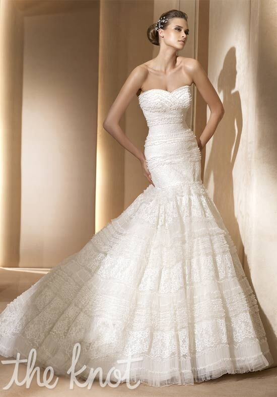 PRONOVIAS Agosto Wedding Dress - The Knot