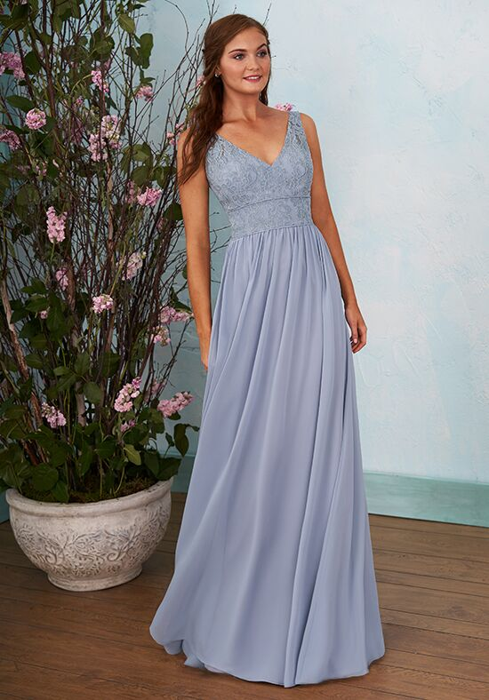 B2 by Jasmine B203008 V-Neck Bridesmaid Dress