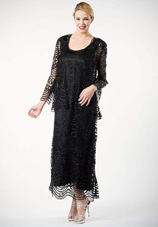 Soulmates C1062 Black Mother Of The Bride Dress