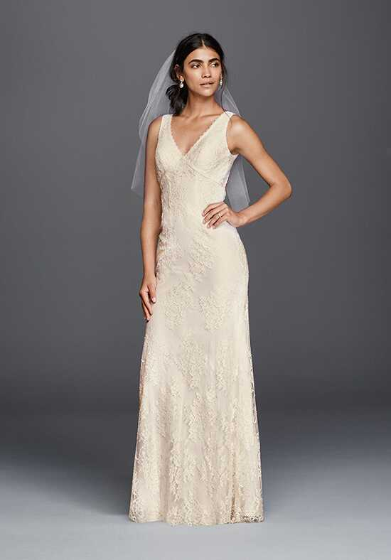 David's Bridal Galina Style KP3783 Sheath Wedding Dress