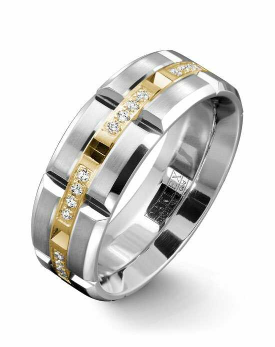 Carlex WB-9319 Gold Wedding Ring