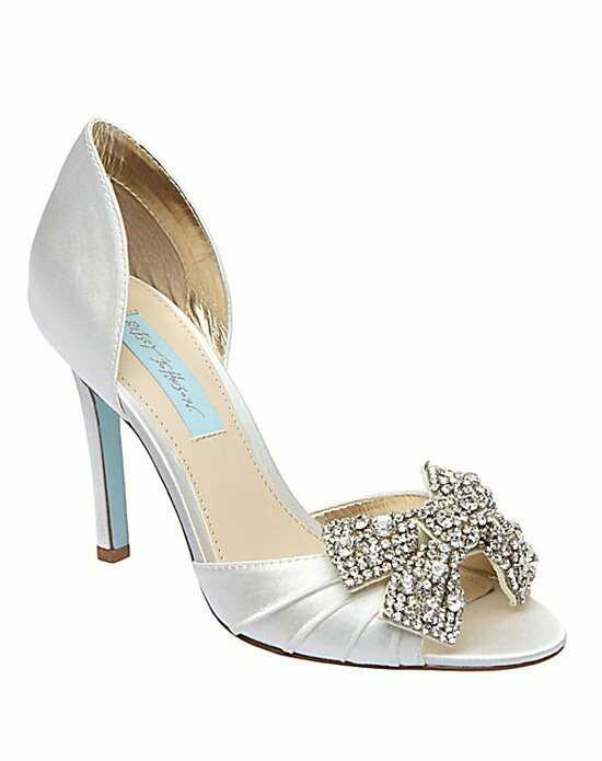 Blue by Betsey Johnson SB-Gown-Ivory Ivory Shoe