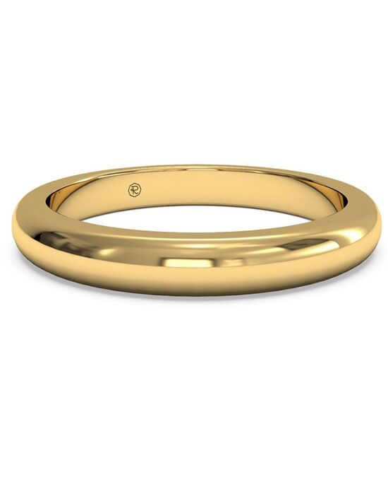 Ritani Women's Classic Diamond Band - in 18kt Yellow Gold Gold Wedding Ring