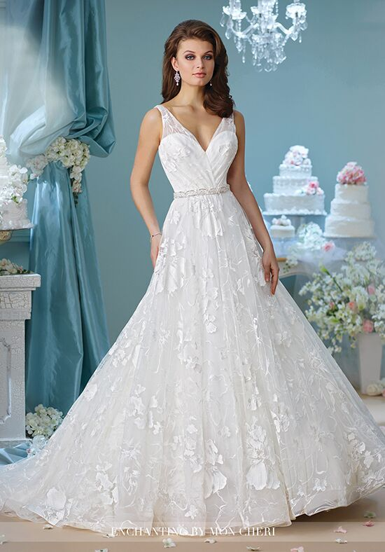 Enchanting by mon cheri 216167 wedding dress the knot for How do you preserve a wedding dress