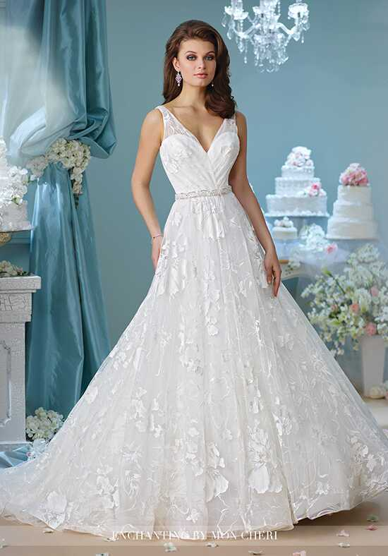 Enchanting by Mon Cheri 216167 A-Line Wedding Dress