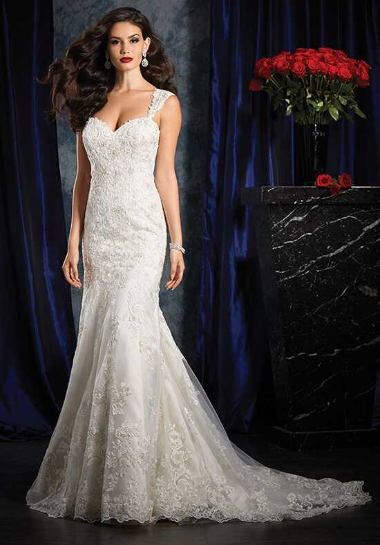Alfred Angelo Sapphire Bridal Collection 986 Sheath Wedding Dress