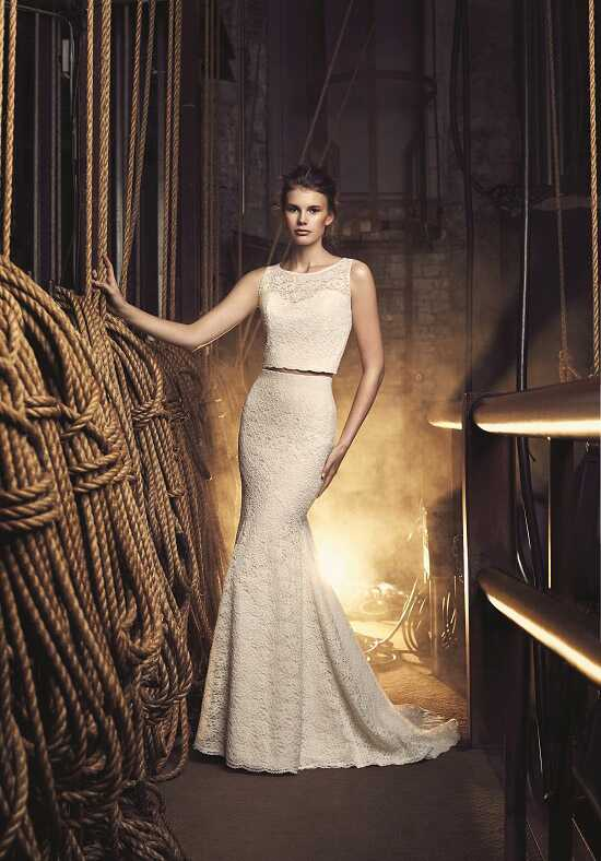 Mikaella 2075 Sheath Wedding Dress