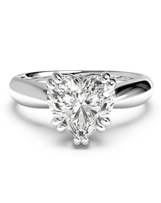 Ritani. Solitaire Diamond Tulip Cathedral Engagement Ring ...