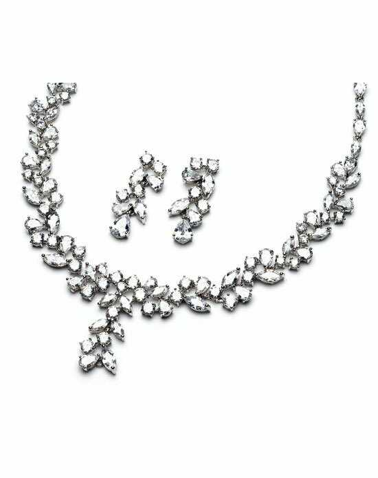 USABride Delicate CZ Jewelry Set JS-1271 Wedding Necklace photo