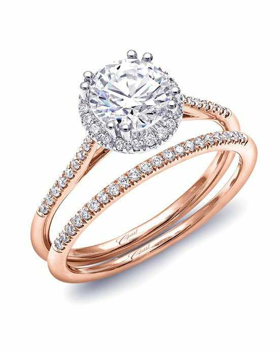 Coast Diamond Rose Gold Collection - LC5403 & WC5403 Engagement Ring photo