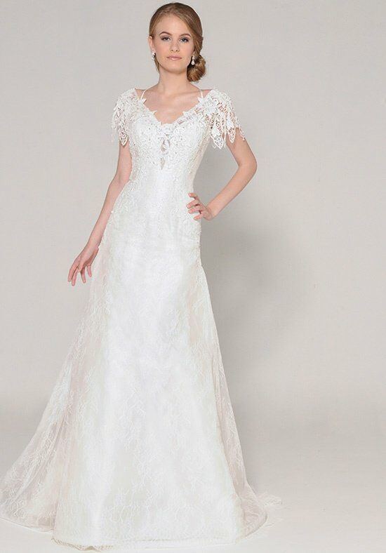 Eugenia Plumeria 3947 A-Line Wedding Dress