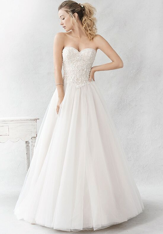 Kenneth Winston: Ella Rosa Collection BE368 A-Line Wedding Dress