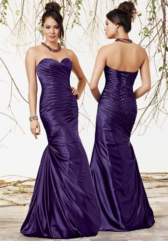 Jordan 1622 Strapless Bridesmaid Dress