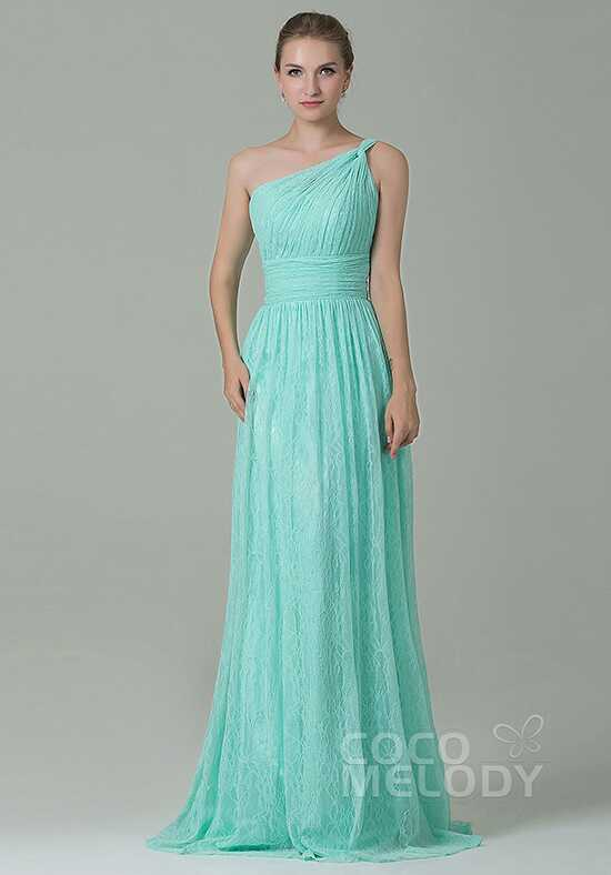 CocoMelody Bridesmaid Dresses COZK16014 One Shoulder Bridesmaid Dress