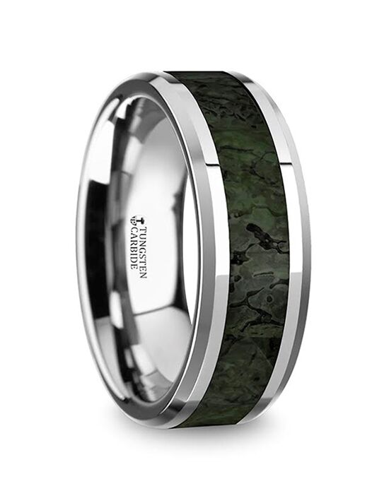 Mens Tungsten Wedding Bands C5724-TDGDB Tungsten Wedding Ring