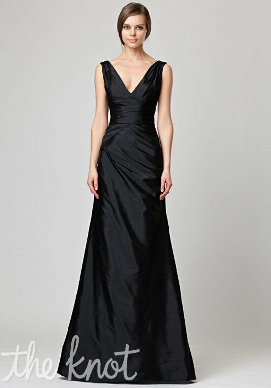 Monique Lhuillier Bridesmaids 450047 V-Neck Bridesmaid Dress