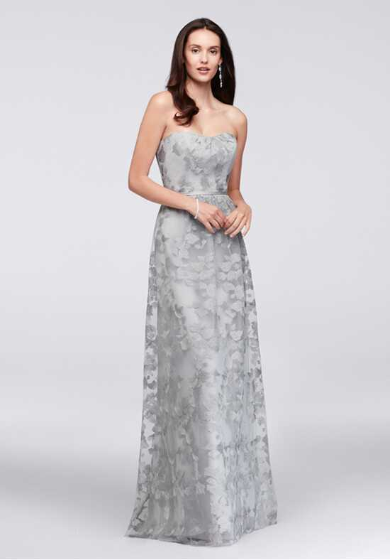 Oleg Cassini Exclusively at David's Bridal Bridesmaid Dresses OC290028 Strapless Bridesmaid Dress