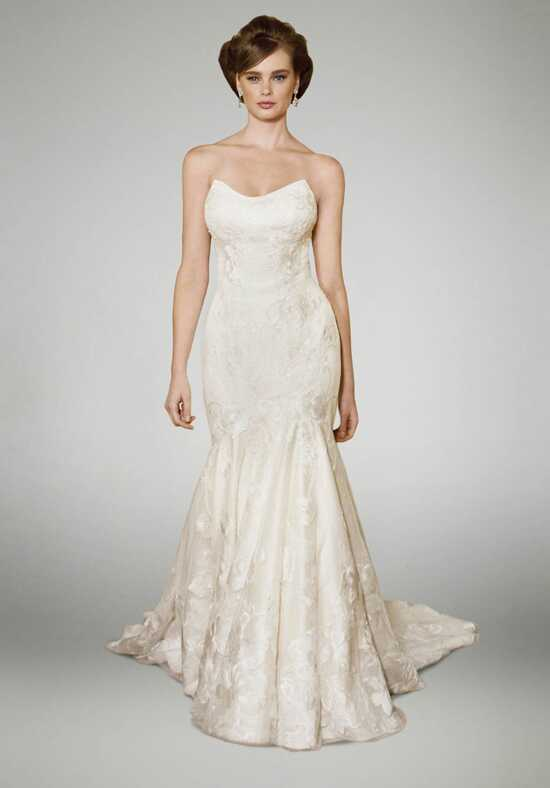 Matthew Christopher Heather Mermaid Wedding Dress