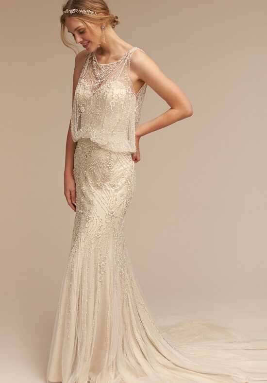 BHLDN Jacinda Sheath Wedding Dress