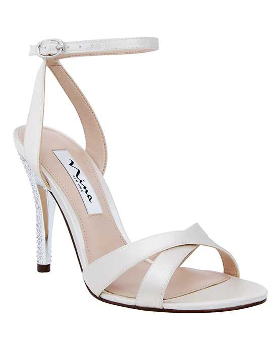 Nina Bridal Wedding Accessories Meryly Ivory Ivory Shoe