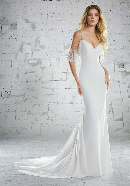 Morilee by Madeline Gardner/Voyage Kariotta/6883 Sheath Wedding Dress
