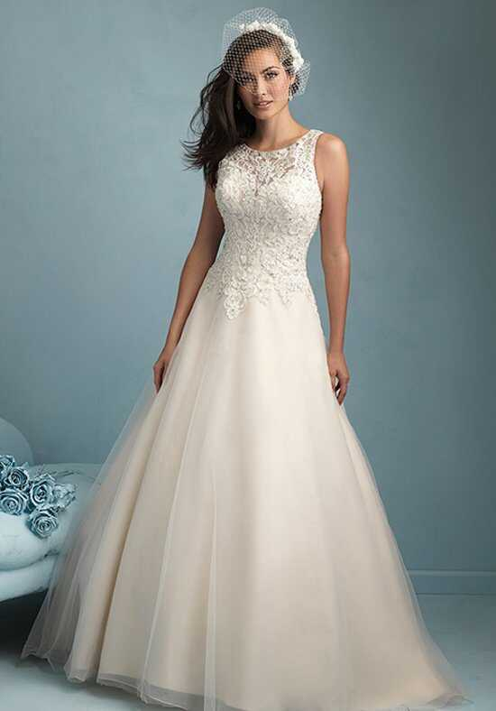 Allure Bridals 9200 A-Line Wedding Dress