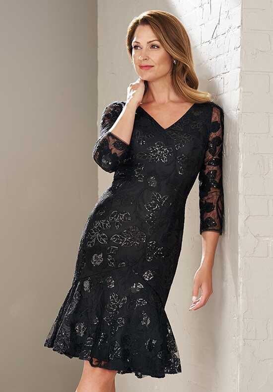 Jasmine Black Label M200013 Black Mother Of The Bride Dress