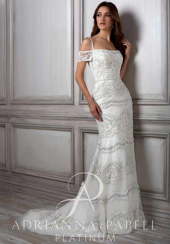 Adrianna Papell Platinum Viola Wedding Dress - The Knot