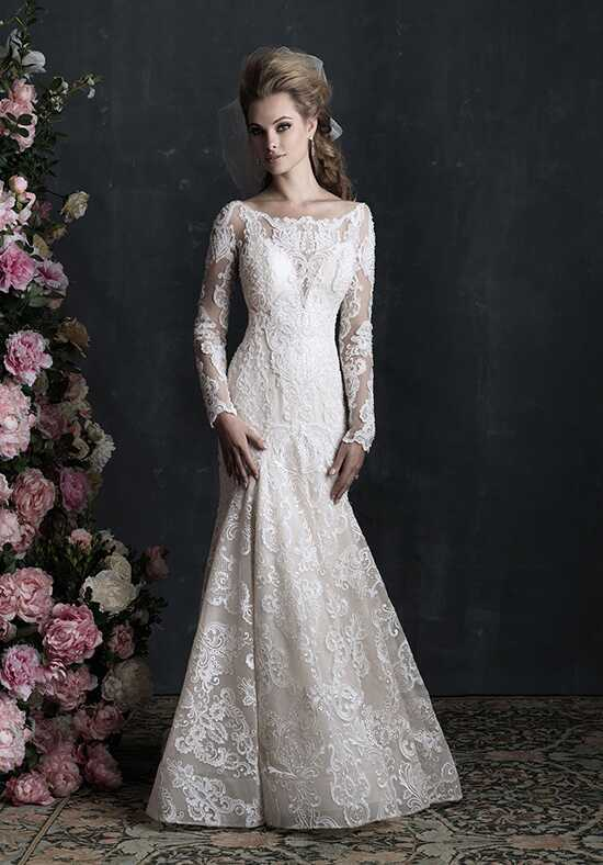 Allure Couture C406 Sheath Wedding Dress